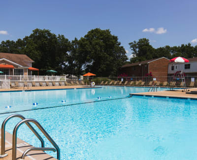Onsite playground at Westgate Apartments & Townhomes in Manassas, Virginia