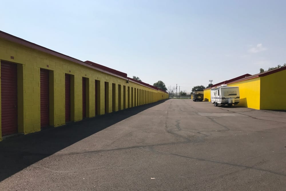 Storage units at Prime Storage in Fairless Hills, PA