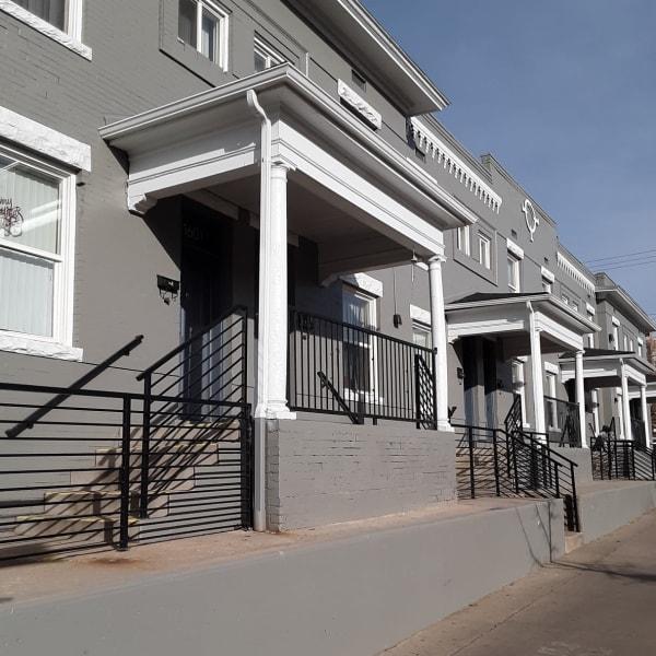 Exterior at Capitol Hill Apartments in Denver, Colorado