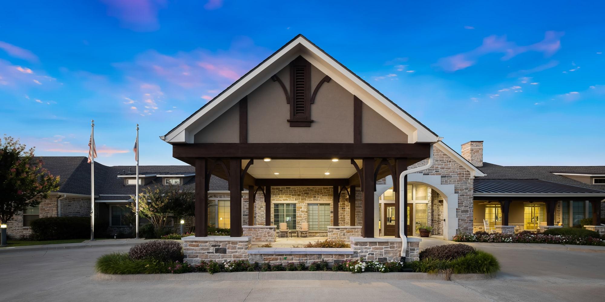 Senior living at Anthology of Stonebridge Ranch in McKinney, Texas