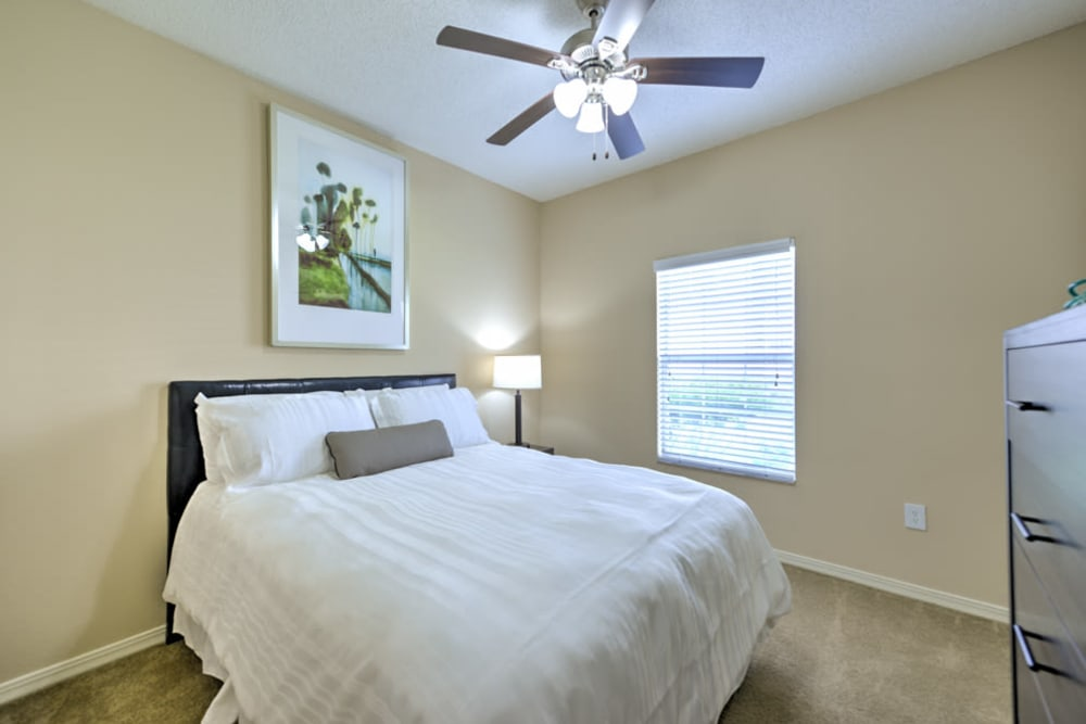 Bedroom at Ocean Park of Ponte Vedra in Jacksonville Beach, FL