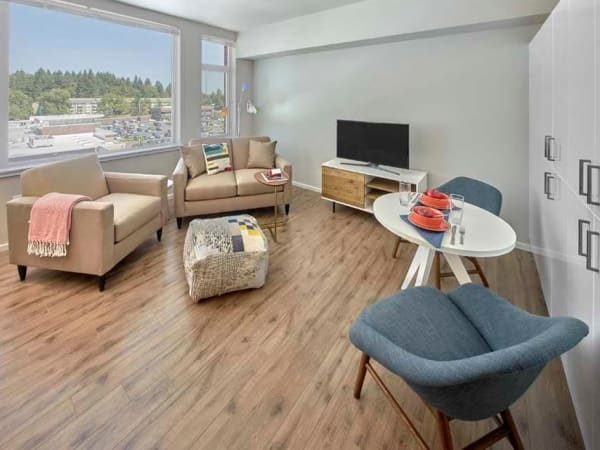 View our floor plans at The Maverick in Burien, Washington