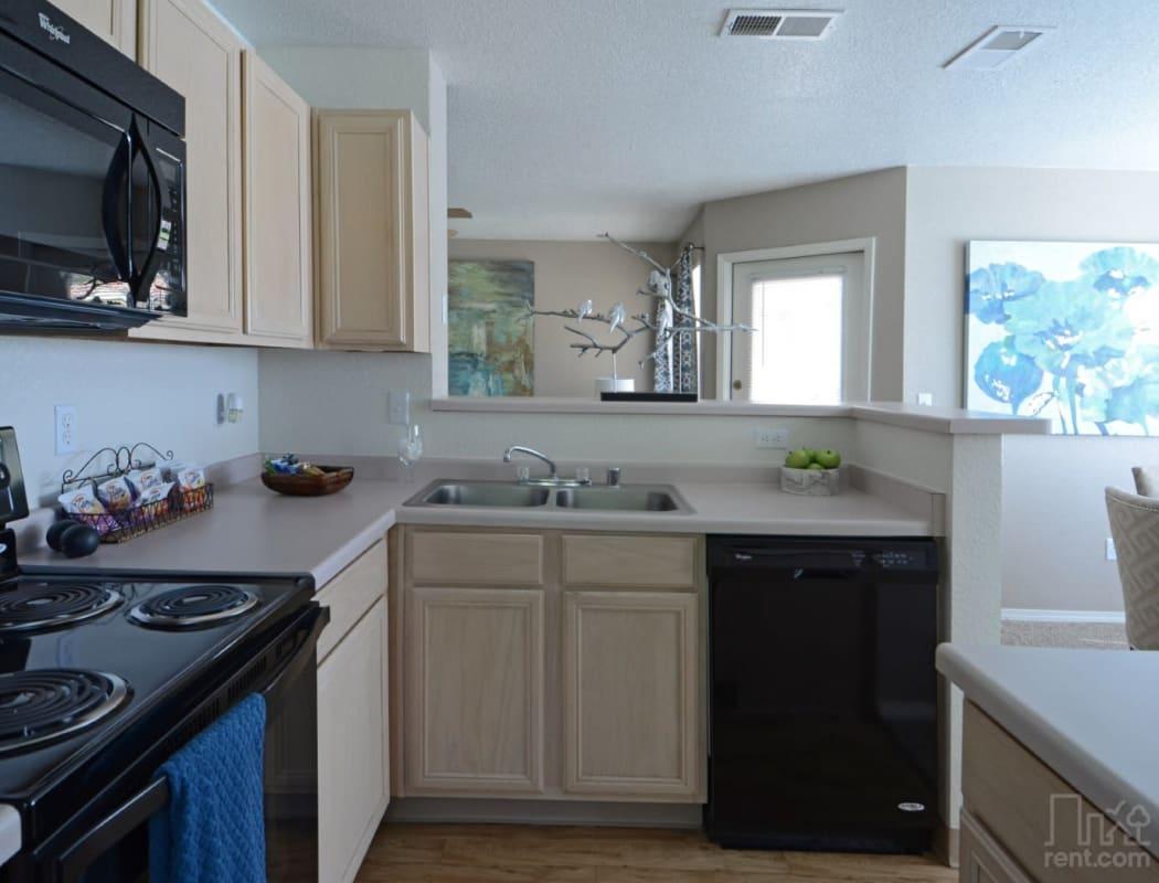 Beautiful apartment features await at La Ventana Apartment Homes in Albuquerque