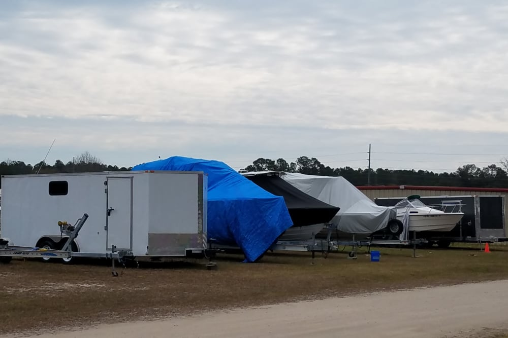RV, boat and auto storage available at Monster Self Storage in Ocean Isle Beach, North Carolina