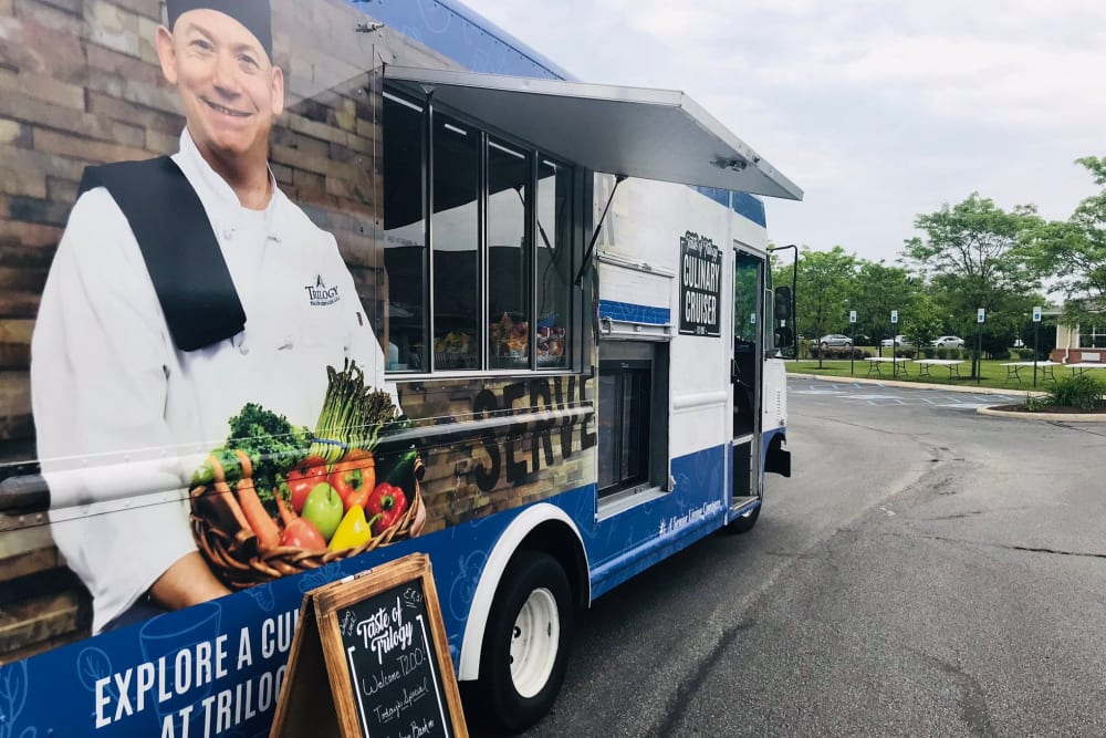 The Culinary Cruiser at Trilogy Health Services in Louisville, Kentucky