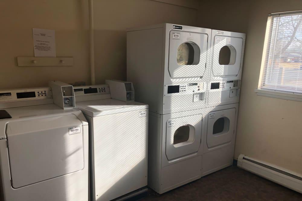 Laundry facility at Tiffany Square in Lakewood, Colorado