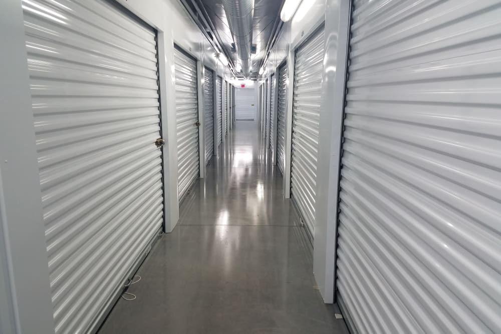 Temperatur-controlled storage available at Breezy Hill Self Storage in Graniteville, South Carolina