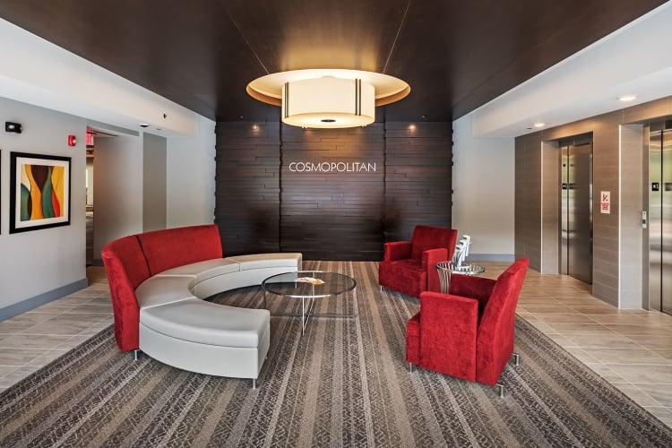 Lobby at Cosmopolitan
