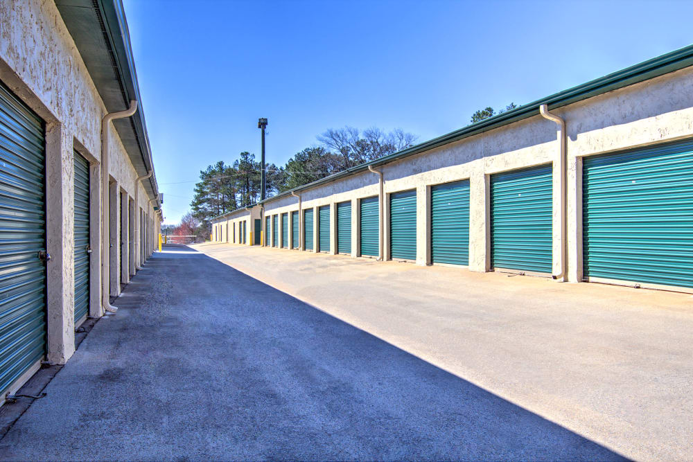 Outdoor units at Prime Storage in Marietta, Georgia