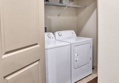 Washer/dryer at Fairview at Town Center Apartment Homes in Rochester, New York