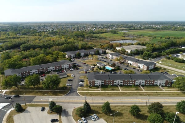 Enjoy the neighborhood at West Line Apartments in Hanover Park, Illinois