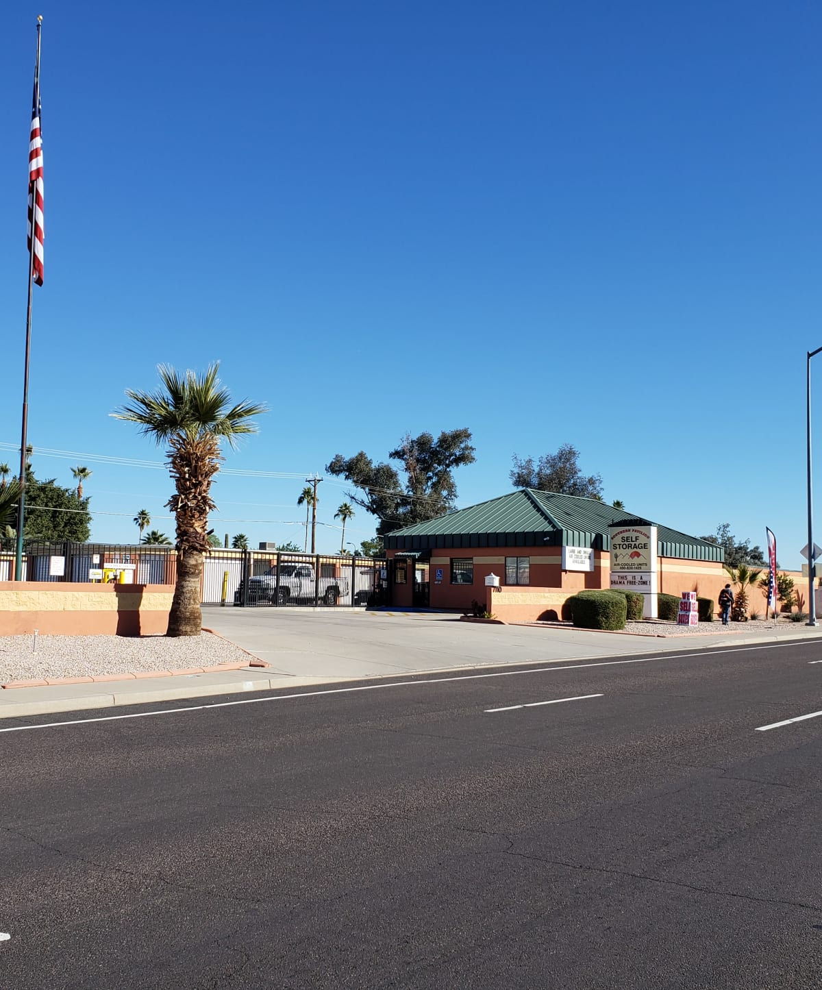 Southern Pavilion Self Storage in Mesa, Arizona