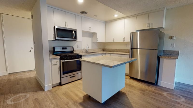 View a virtual tour of our studio apartment homes at Mediterranean Village in West Hollywood, California