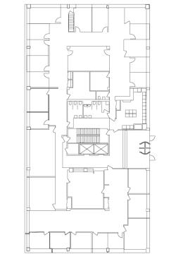 1st floor floor plans of 190 Moore Corporate Center in Hackensack, New Jersey