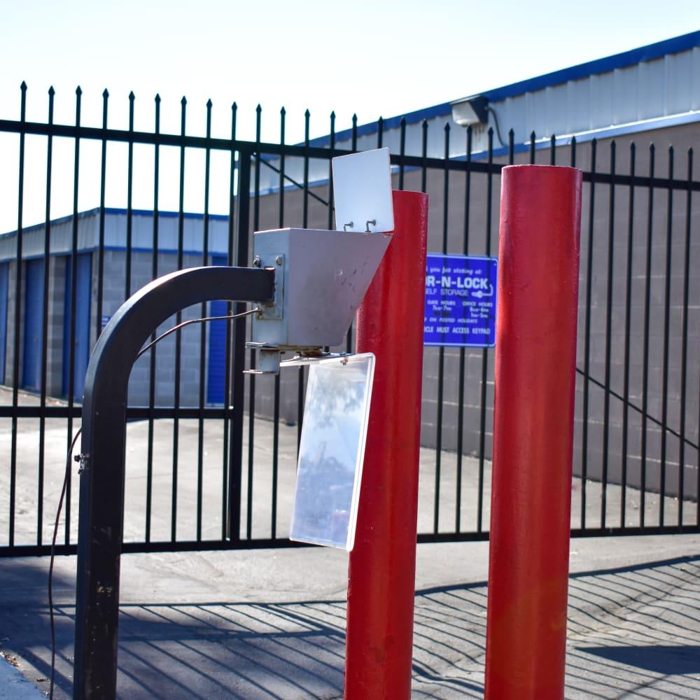 Keypad entry at STOR-N-LOCK Self Storage in Sandy, Utah