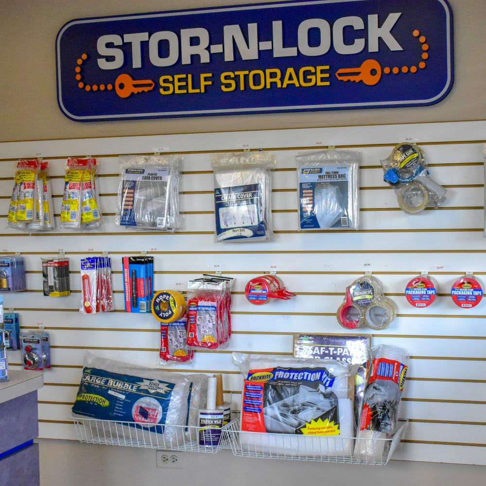 Moving supplies for sale at STOR-N-LOCK Self Storage in Aurora, Colorado