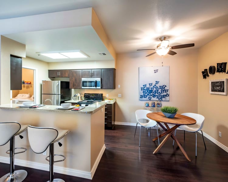 Click to see our floor plans at Sierra Del Oro Apartments in Corona, California