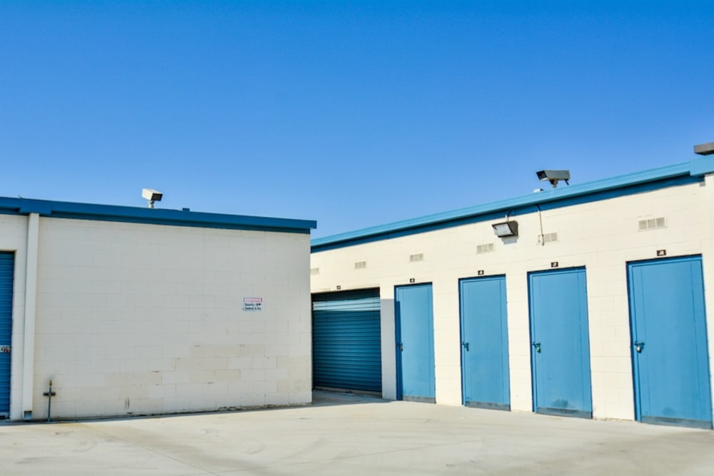 Security features at our storage facility in Gardena