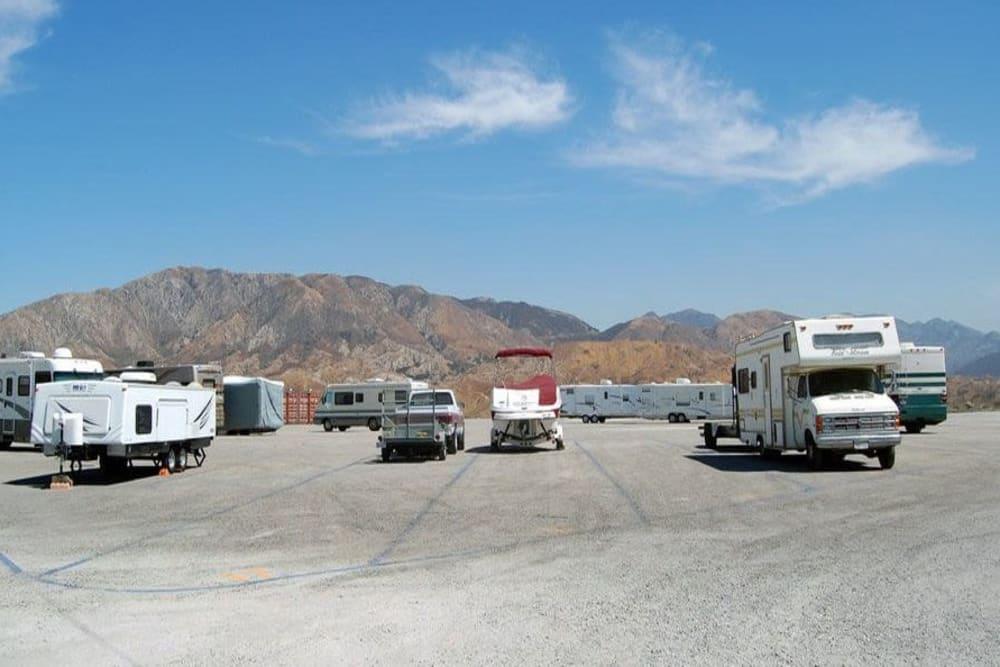 Auto, Boat, RV, & Truck Parking at Storage Etc... Sylmar