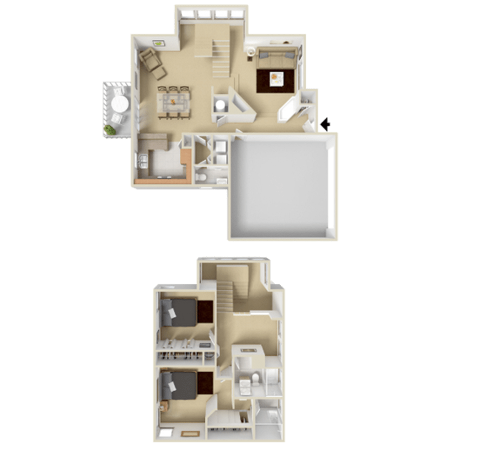 2 Bedroom 1383 sq.ft  house in Westminster, Colorado