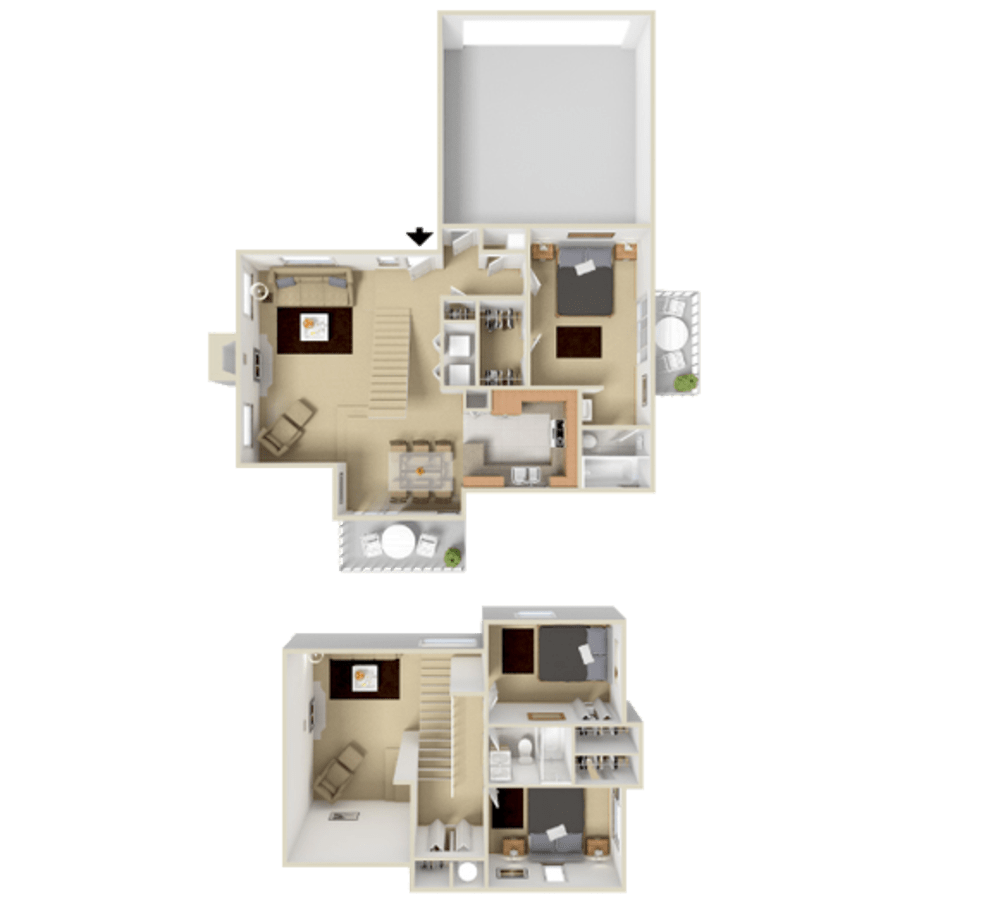 3 Bedroom 1292 sq.ft  house in Westminster, Colorado