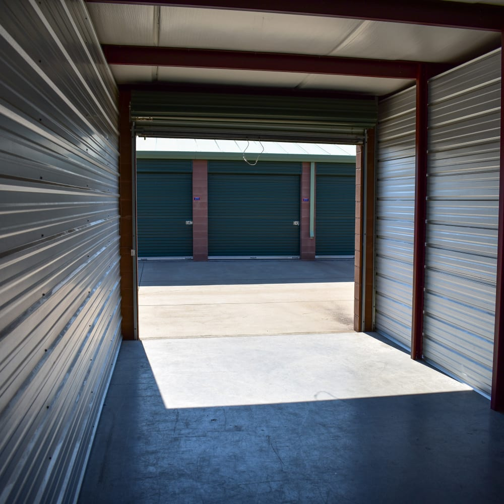 A large storage unit at STOR-N-LOCK Self Storage in Fort Collins, Colorado