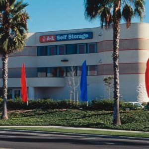 Exterior of A-1 Self Storage in San Diego, California