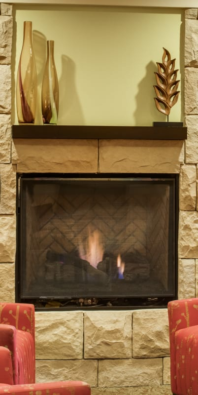 Fireplace at The Reserve at Thousand Oaks in Thousand Oaks, California