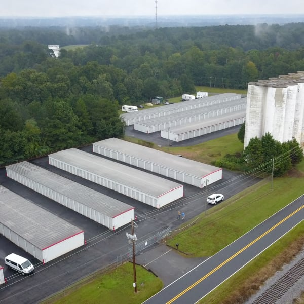 Aerial view of StayLock Storage in Athens, Georgia