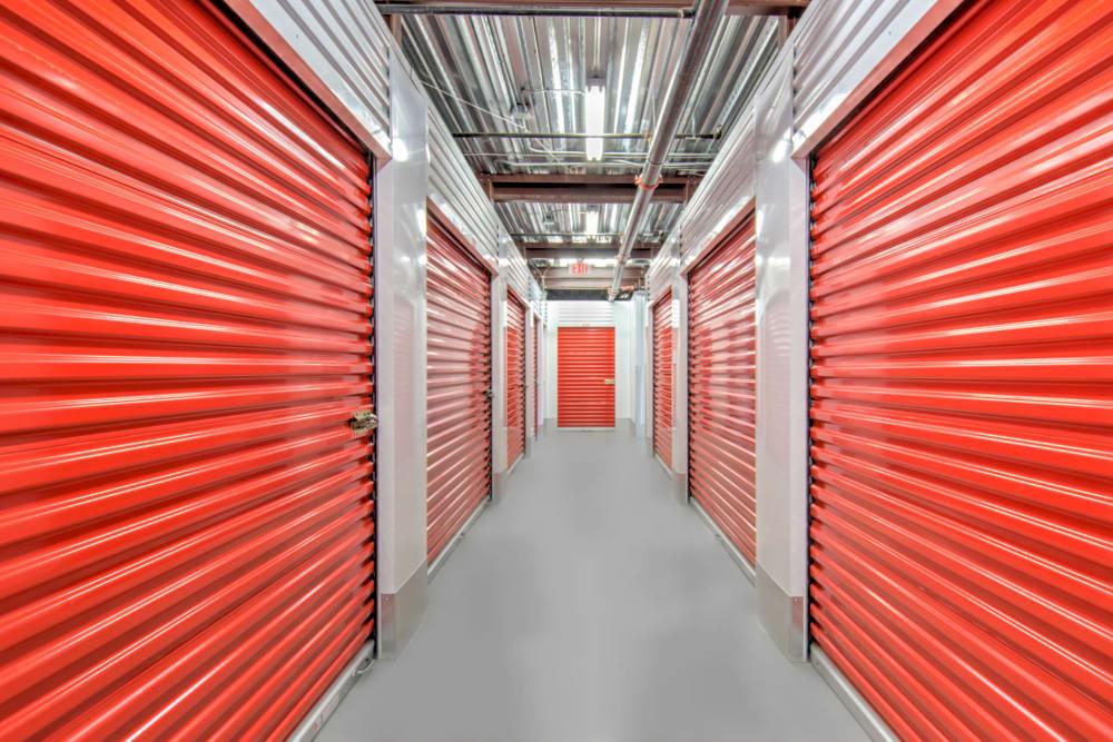 Interior units at Prime Storage in Virginia Beach, VA
