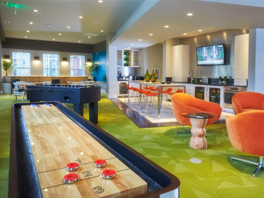 Clubhouse at Uptown in Canton in Canton, Michigan
