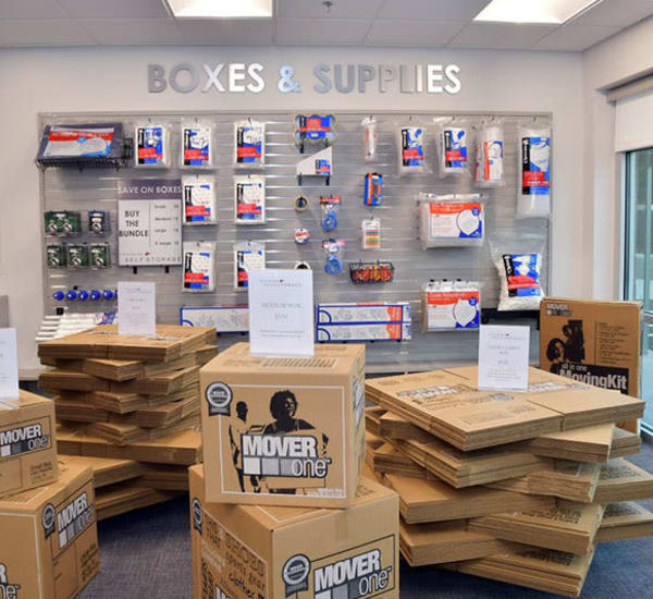 Packing and moving supplies for sale at Edgemark Self Storage Arvada in Arvada, Colorado