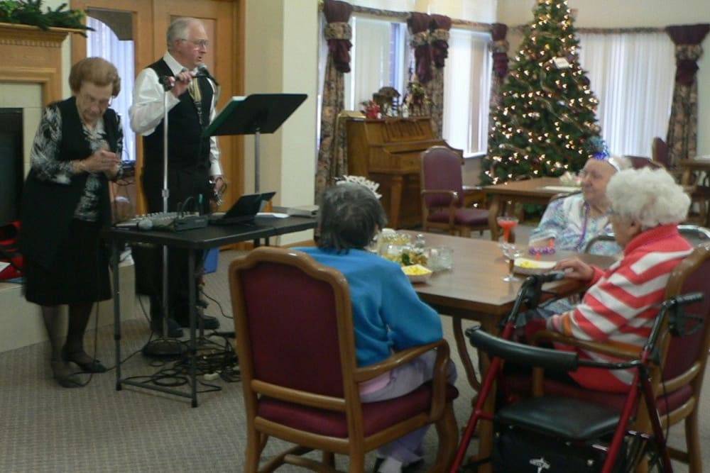 Variety of activities for residents at Avalon Assisted Living Community