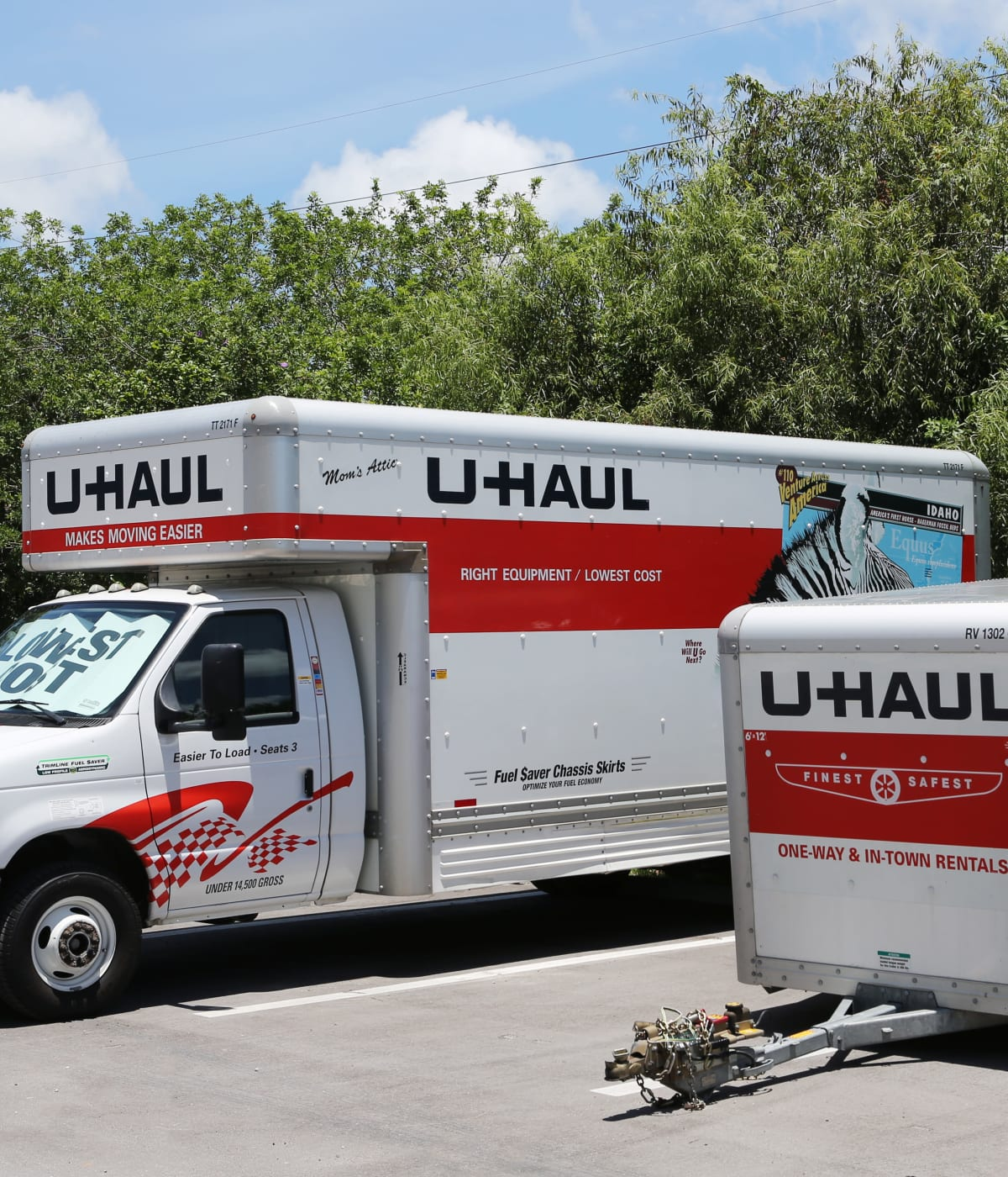 Midgard Self Storage in Naples, Florida, has moving trucks for rent