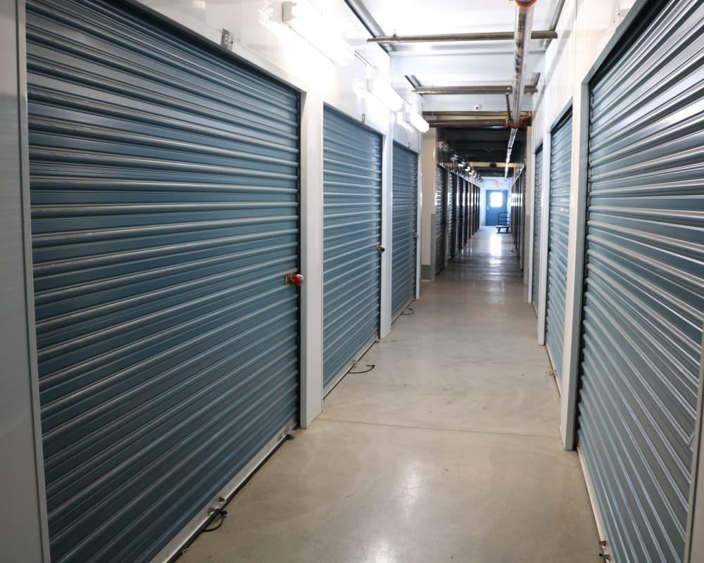 Indoor storage units at Golden State Storage - Oxnard in Oxnard, California