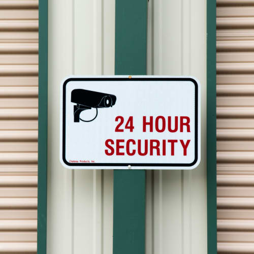 24-hour security at Red Dot Storage in Pine Bluff, Arkansas