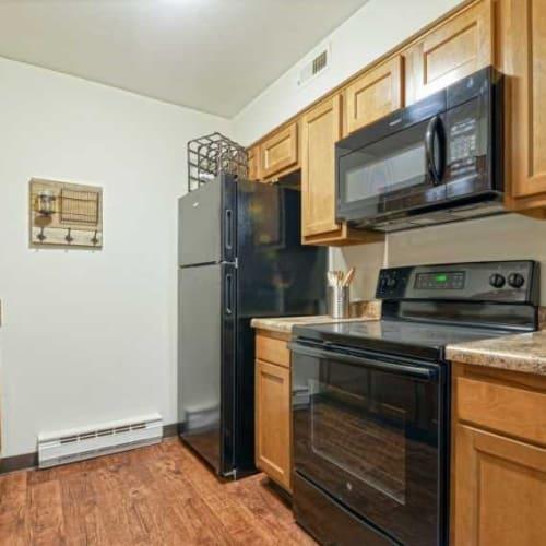 Kitchen at Oakwood Apartments