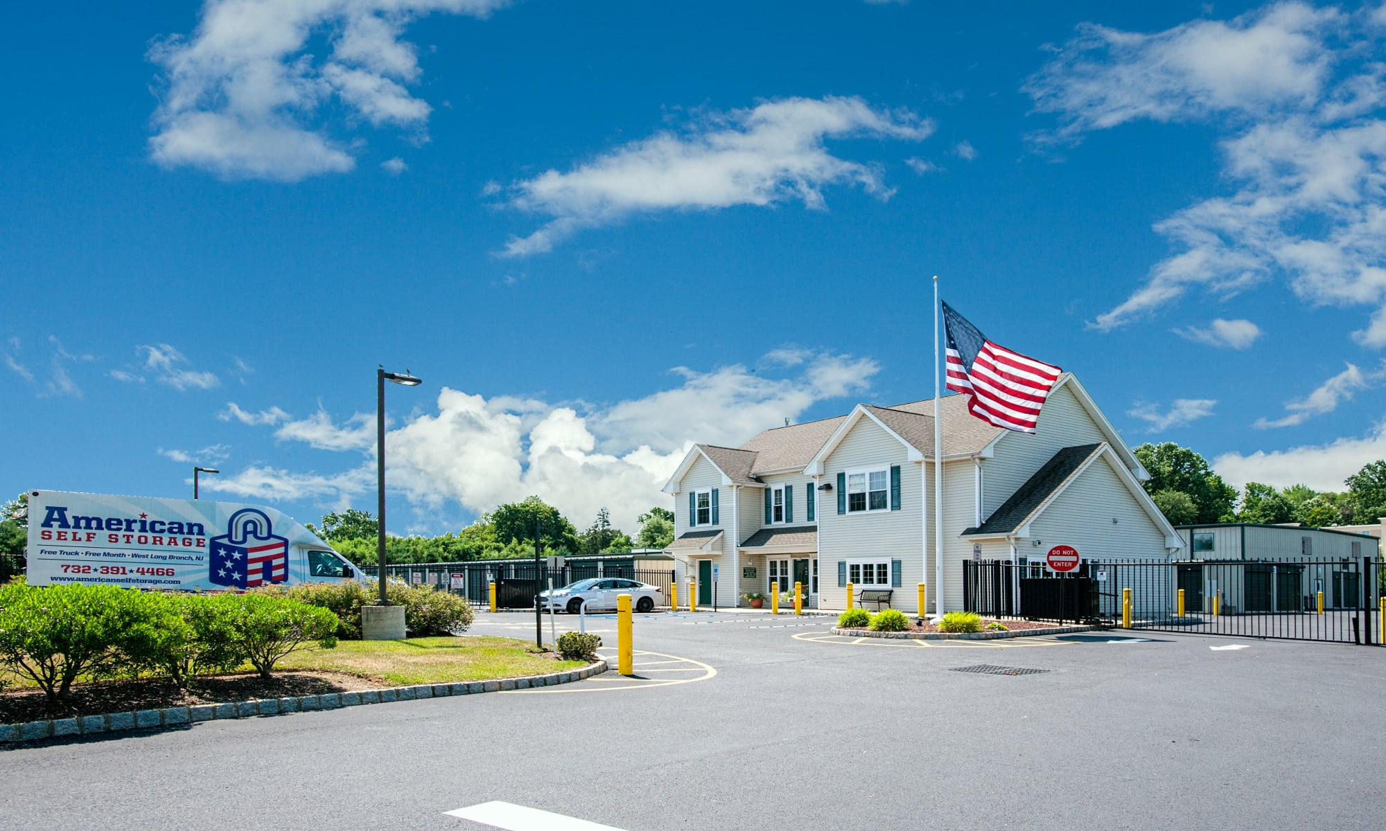Self storage in West Long Branch New Jersey