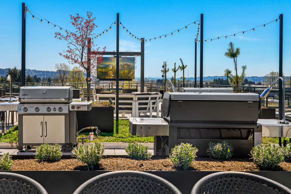 Enjoy Apartments with an Outdoor BBQ Area at The Verge in Auburn, Washington