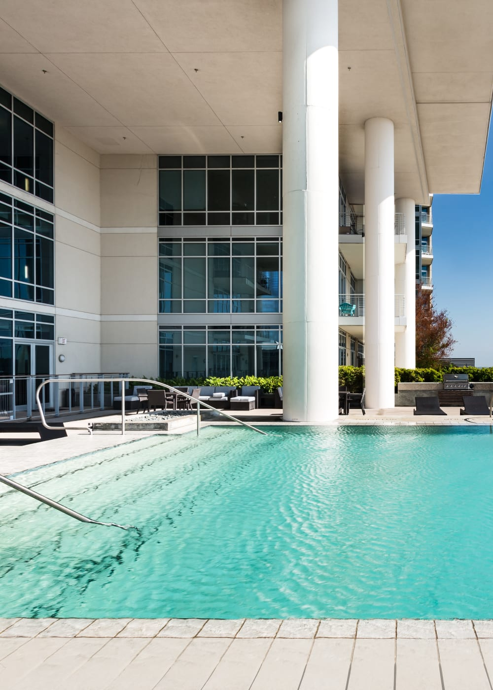 Resident's enjoying their new life at The Heights at Park Lane in Dallas, Texas