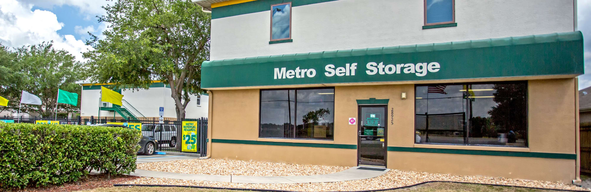 Metro Self Storage in Wesley Chapel, FL