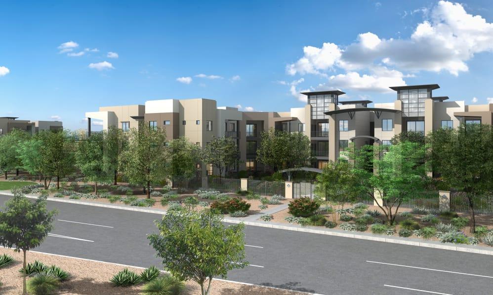 Apartments at Sky at Chandler Airpark in Chandler, Arizona