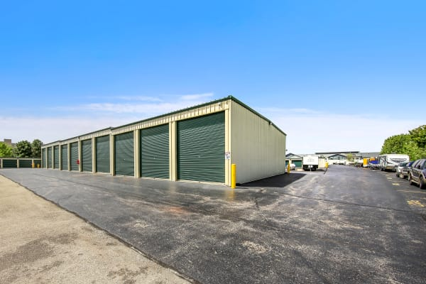 Vehicle storage at Global Self Storage in Bolingbrook, Illinois
