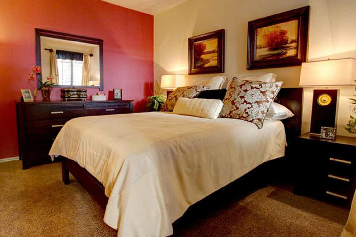 Enjoy spacious bedrooms at Dobson 2222 in Chandler, Arizona