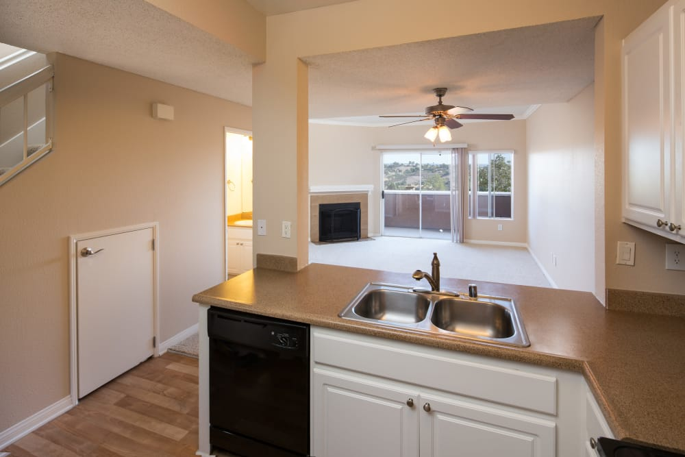 Beatiful kitchen at Niguel Summit Condominium Rentals in Laguna Niguel, California