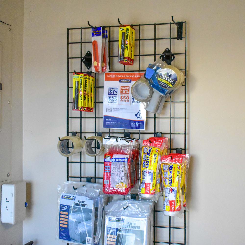 Moving supplies for sale at STOR-N-LOCK Self Storage in West Valley City, Utah