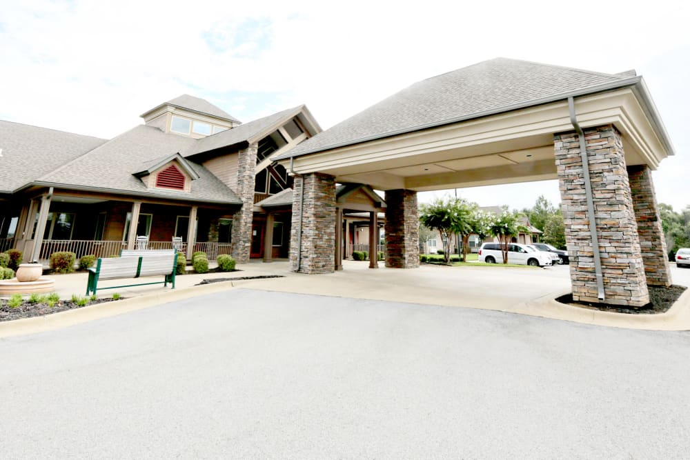 Exterior view of Providence Assisted Living in Searcy, Arkansas.