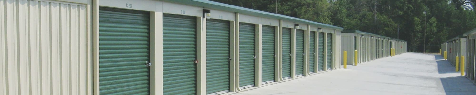 Auto, boat and RV storage at Cardinal Self Storage - East Raleigh