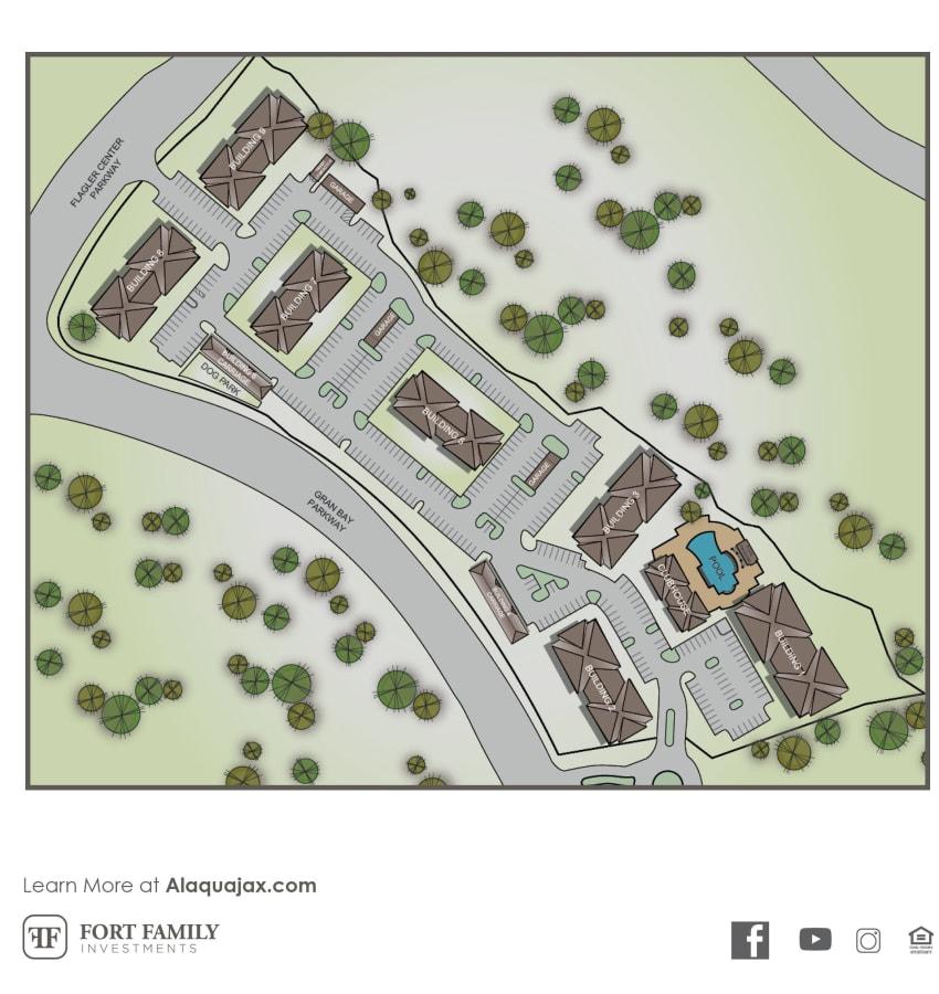 Alaqua site plan