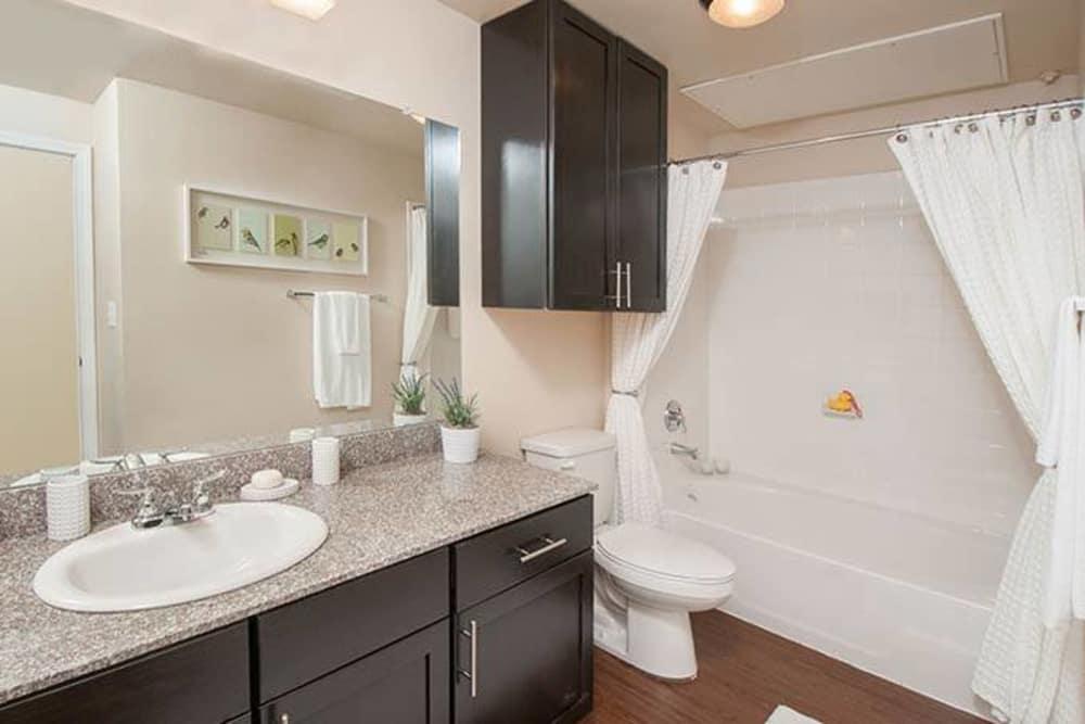 Bathroom at Carrington Oaks in Buda, Texas